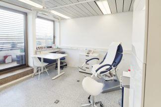 Behandlungszimmer, Behandlungsstuhl