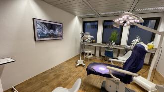 Behandlungszimmer, Laserbehandlung, Haarentfernung