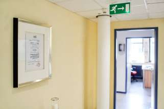 Flur, Medizinzentrum Essen
